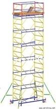 Передвижная сборно-разборная вышка мобильная (высота рабочей зоны до 20,70 м)
