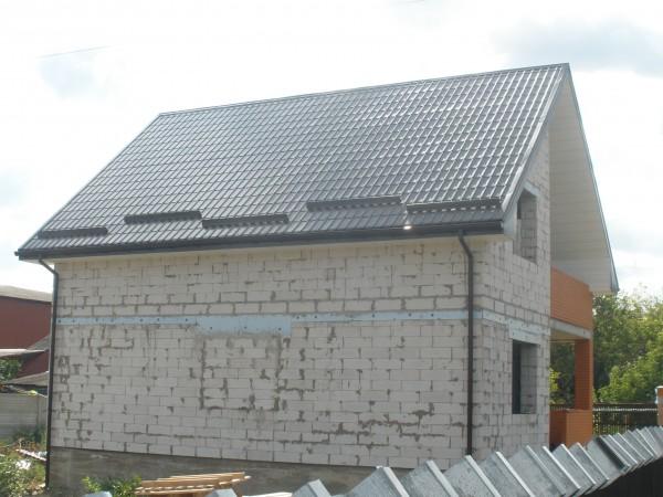 Перекрытие старых крыш