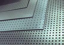 Перфорированный стальной лист 1.0 мм , 1.5 мм , 2.0 мм .