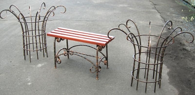 Перголы- мебель для роз и др. цветов. Высота -790 мм.