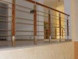 Фото  7 Перила, поручень, ограждение, балкон Н/Ж сталь. Зеркальная полировка. 47830