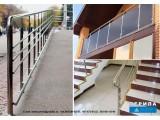 Перила для лестниц из нержавейки цена от 1200 грн и поручни от 550