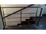 Фото  1 Перила з нержавіючої сталі з профільної труби (квадратної) 2396060