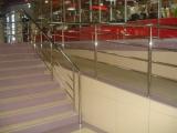 Перила, маршевые лестницы, поручни зеркальная полированная нержавеющая сталь BLESK TM Кировоград