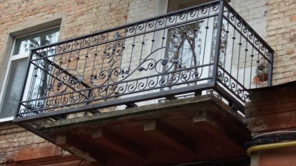 Фото  1 ограждение балкона 1991053