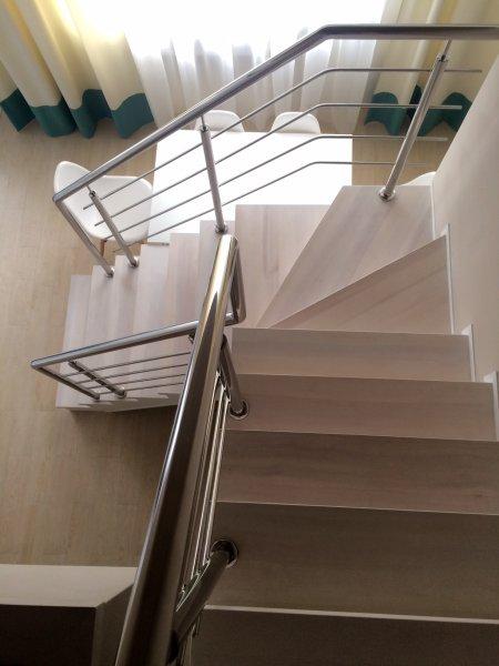 Фото 1 Перила з нержавійки,балкони,навіси,відбійники 335746