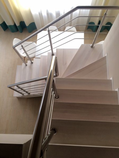 Фото 3 Перила з нержавійки,балкони,навіси,відбійники 335746