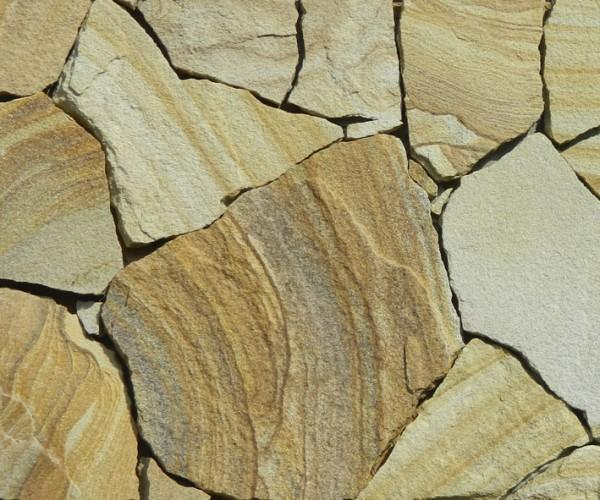 песчаник природной формы то2щина от 10мм-80мм