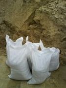 песок горный и мытый, в мешках и кубами