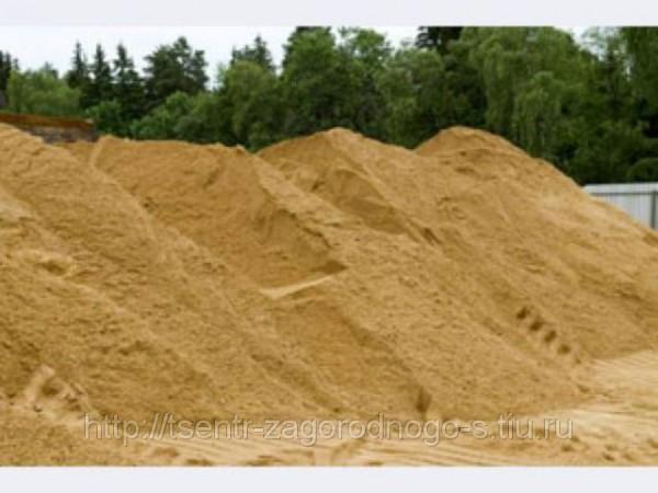 Песок (горный) с доставкой по Харькову 9 кубов