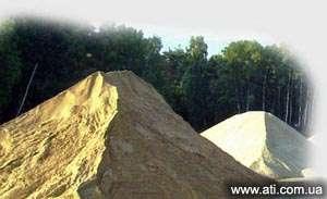 Песок каръерный/намывной