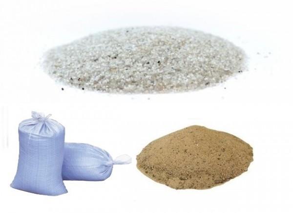 Песок кварцевый, сухой фракционный, для пескоструя Песок кварцевый доставим: Донецк, Макеевка, Горловка.