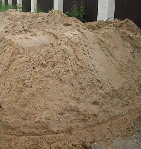 Песок мытый от 1 до 22м3(Ходка)