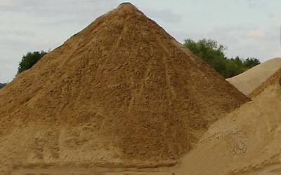 песок речной и овражный (карьерный)