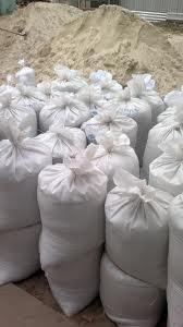 Песок речной мешок по 50 кг 6,0 грн