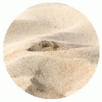 песок речной.