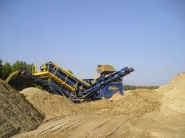 Песок строительный навалом.