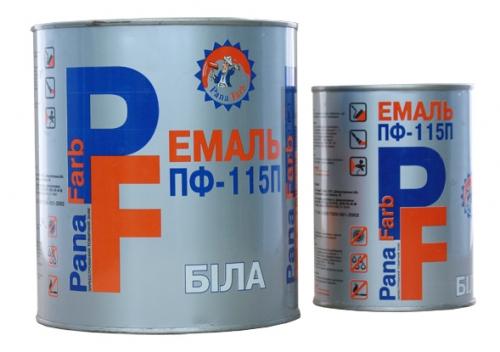 ПФ-115 краска алкидная PanaFarb (Арктика) от производителя