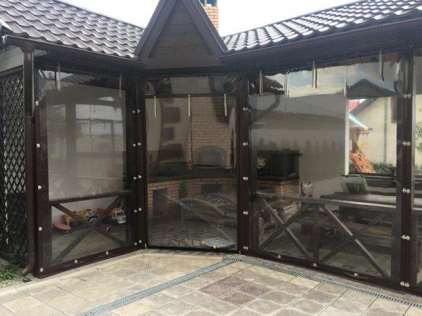 Фото 8 Мягкие окна, ПВХ шторы 338674