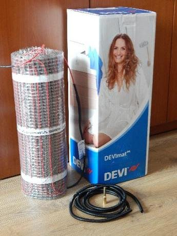 Фото  1 Нагревательный мат DTIR-150 3,0м.кв./450Вт, теплый пол Devi (Дания) 1864762