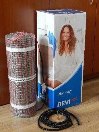 Фото  1 Нагревательный мат DEVImat 1,5м.кв./225Вт, теплый пол Devi (Дания) 1864760