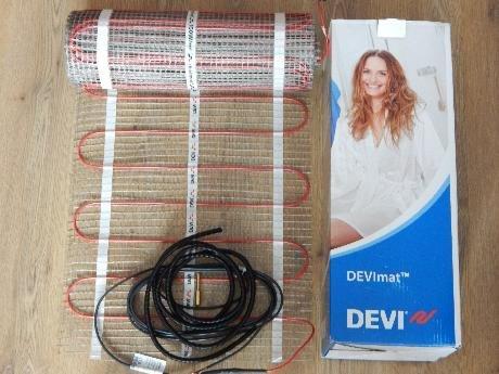 Фото  1 Нагревательный мат DEVImat DTIR-150 9,0м.кв./1350Вт, Devi (Дания) 1864776