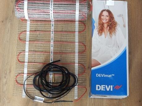 Фото  1 Нагревательный мат DEVImat DTIR-150 12,0м.кв./1800Вт, Devi (Дания) 1864777