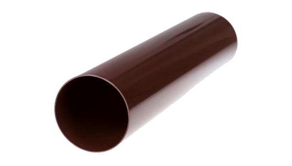 Фото  1 Труба водостічна Profil пластикова 100мм коричнева 3 м.п. 1444391