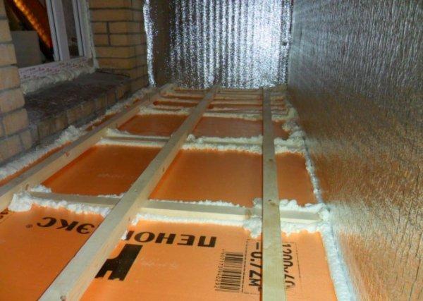 Фото  1 Утеплення та оздоблення підлоги на балконі м.Рівне Супер Вікна 1818018
