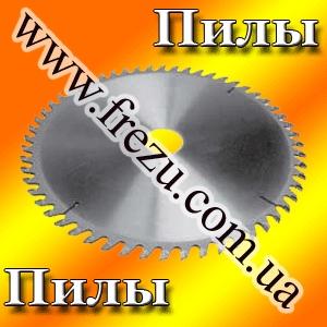 Пилы дисковые по дереву с твердосплавными пластинами с подрезающими ножами