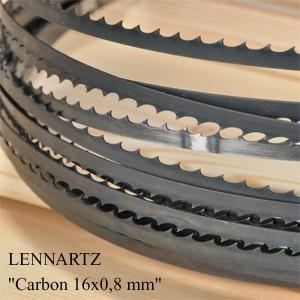 Пилы ленточные по дереву столярные узкие 16х0,80 Lennartz