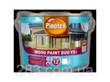 Фото  1 Pinotex Wood Paint Duo VX + - Масляна фарба на водній основі для деревяних фасадів- захист до 12 років 1 л 2301559