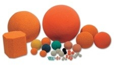 Pipeform® природные каучуки, губки, резина очистки для бетононасосов, воздуховодов.