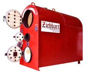 Пиролизный котел Ziehbart 240 Время работы на одной загрузке, 12-24 часов.