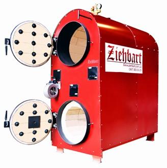 Пиролизный котел Ziehbart 40 Время работы на одной загрузке, 12-24 часов.