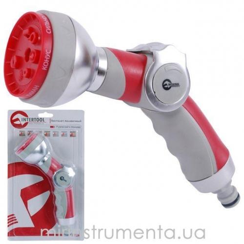 Пистолет-распылитель для полива INTERTOOL GE-0009