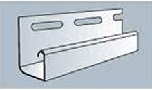 Планка J-trim Fasiding белая 3.66м.