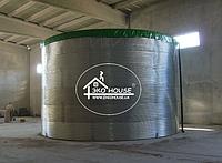 Пластиковые емкости в металлическом каркасе 200000 литров 200 кубов