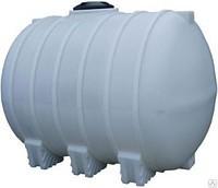 Пластиковые горизонтальные емкости для транспортировки 5000 литров