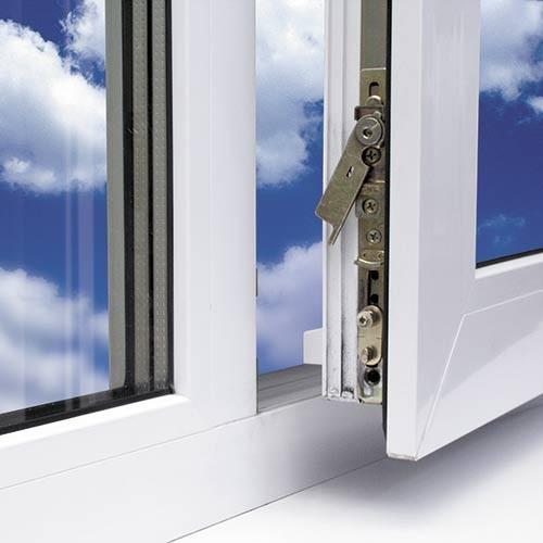 Пластиковое окно ALMplast 1100Х1300 (1-кам. с/т), правая поворотно-откидная створка -758 грн.