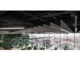 Фото  1 Пластинообразная рейка рейка тип Жалюзи , высота 100мм белый/серый/черный 2304099