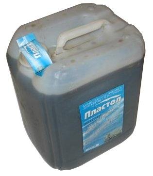 ПЛАСТОЛ - Противоморозная добавка для бетона/раствора - 10л