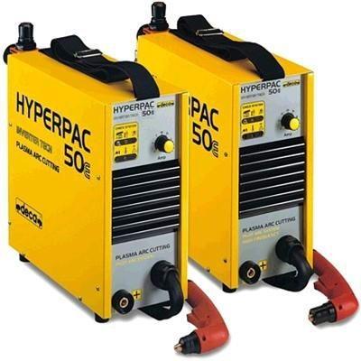Плазменная резка инверторного типа DECA PAC Hyperpac 50E Ergocut 50 / 6 m