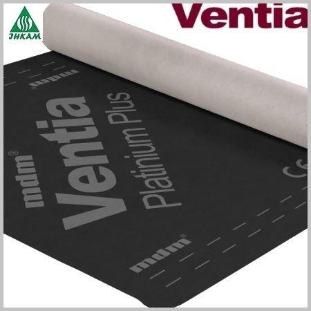 Фото  1 Подкровельная гидроизоляционная пленка Ventia Platinium Plus 1804802