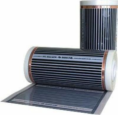 Пленочный теплый пол HI HEAT Толщина - 0,72мм, ширина рулона - 0,5 и 1м, в рулоне 75 м. п. Мощность - 220Вт/м. кв.