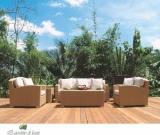 Плетеные диваны - садовая мебель из искусственного ротанга