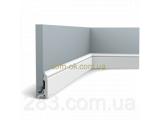 Фото  1 Плинтус напольный Orac Decor/Орак Декор из дюрооплимера SX165 2302574