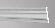 Плинтус потолочный Бельгия полистирол планка длиной 2м. Д50 43*53