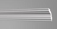 Плинтус потолочный Бельгия полистирол планка длиной 2м. T45 35*35