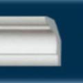 Плинтус потолочный C2 (120), 30х30 мм